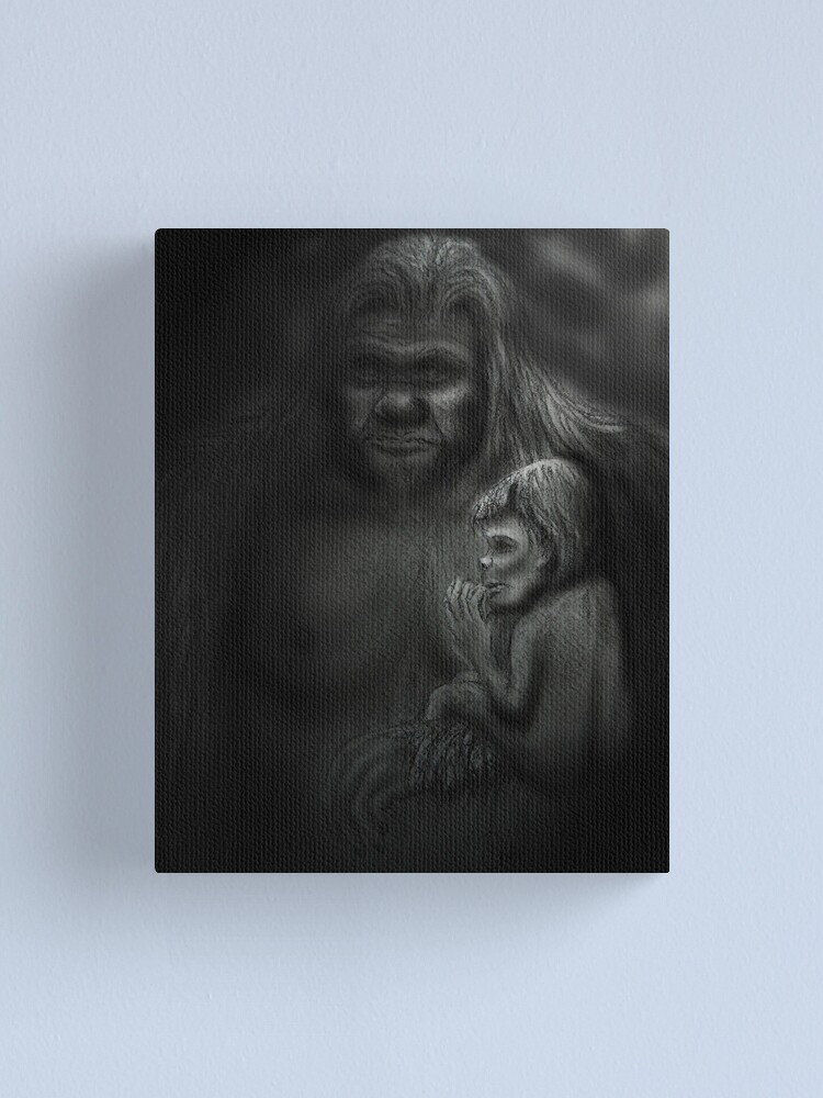 Alternate view of In Her Arms Canvas Print