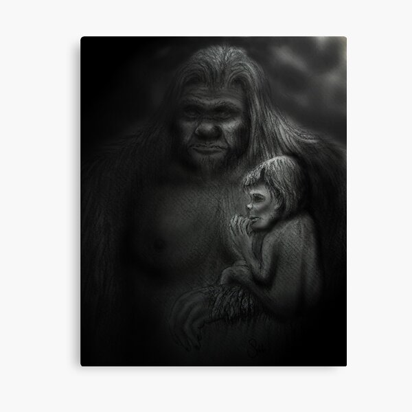 In Her Arms Canvas Print