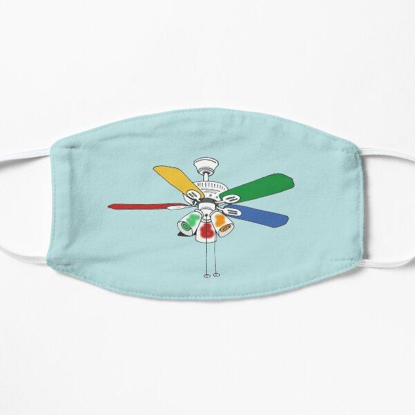 Rainbow Ceiling Fan Flat Mask