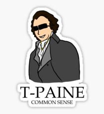 T-Paine & Common Sense Sticker
