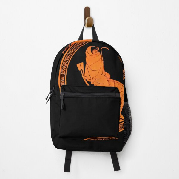 Achilles Mourning Attic kylix Backpack