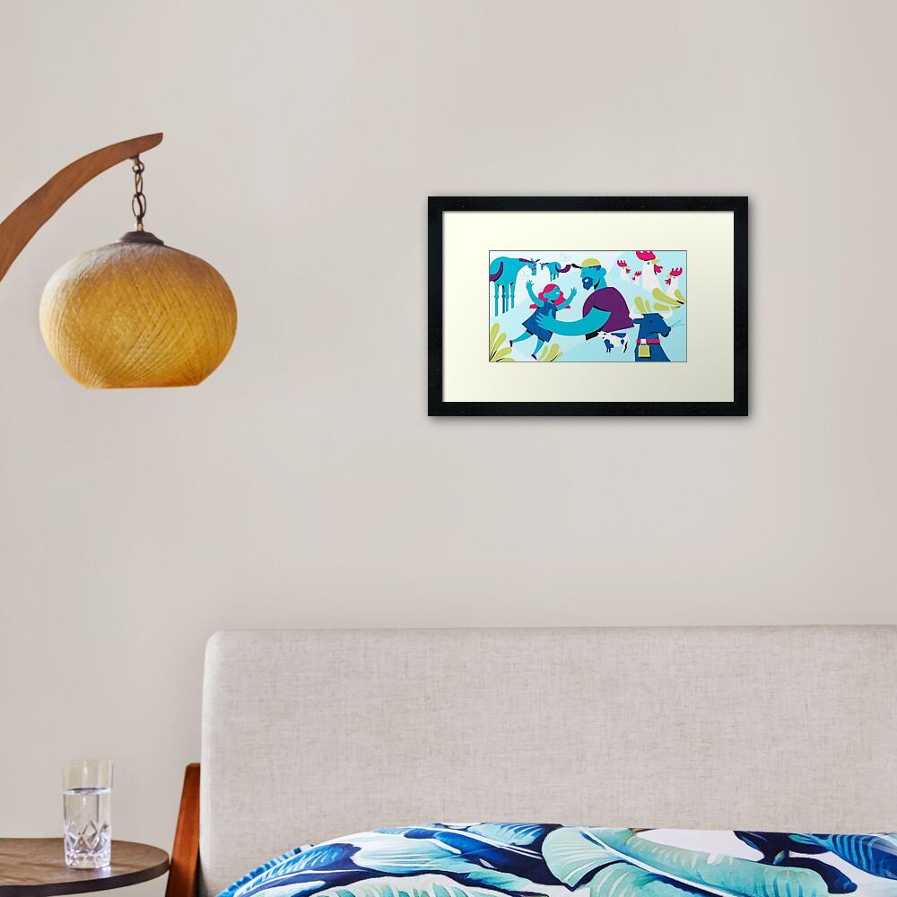 Nofair.mn Framed Art Print