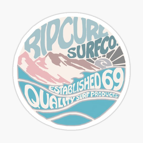 Rip Curl Surf Sticker