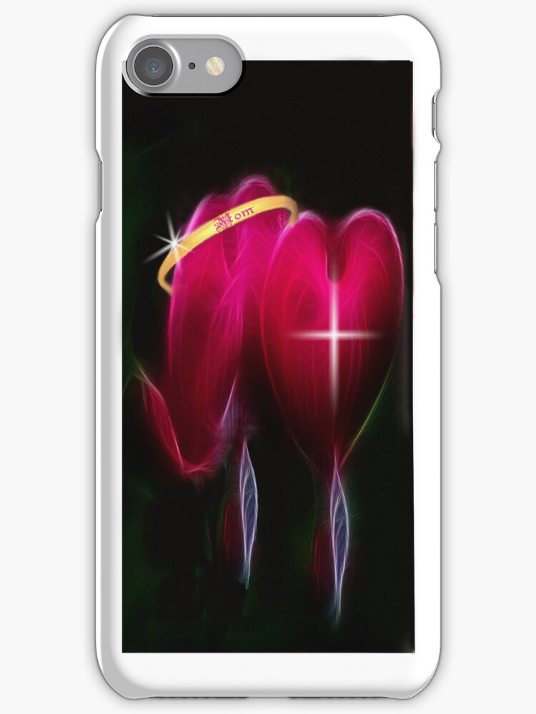 ¸¸.♥➷♥•*¨2 HEARTS-MY MOMS LUV WHO GAVE ME LIFE-MYLOVE-& FAITH IN HER- IPHONE CASE¸¸.♥➷♥•*¨ by ✿✿ Bonita ✿✿ ђєℓℓσ