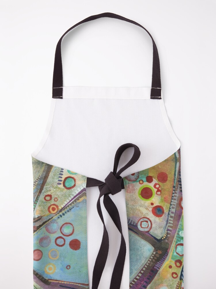 Alternate view of Bohemian Waxwing Painting - 2015 Apron