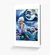 Me & the Moon Greeting Card
