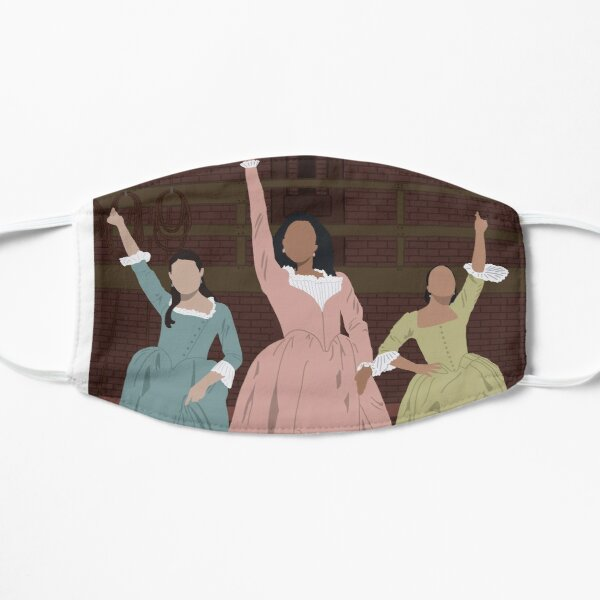 Schuyler sisters, Hamilton artwork. Mask