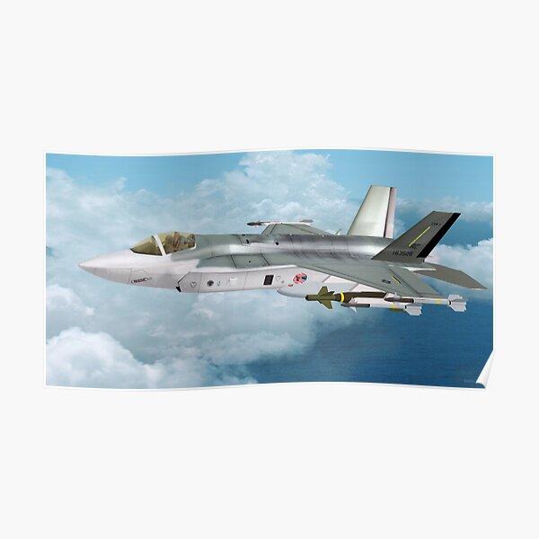 Lockheed Martin F-35 Lightning  Poster