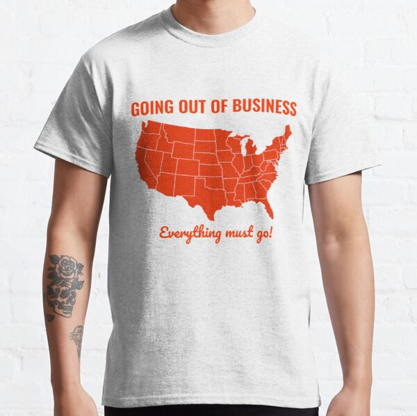 Going Out Of Business: USA Classic T-Shirt
