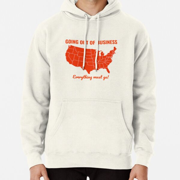 Going Out Of Business: USA Pullover Hoodie