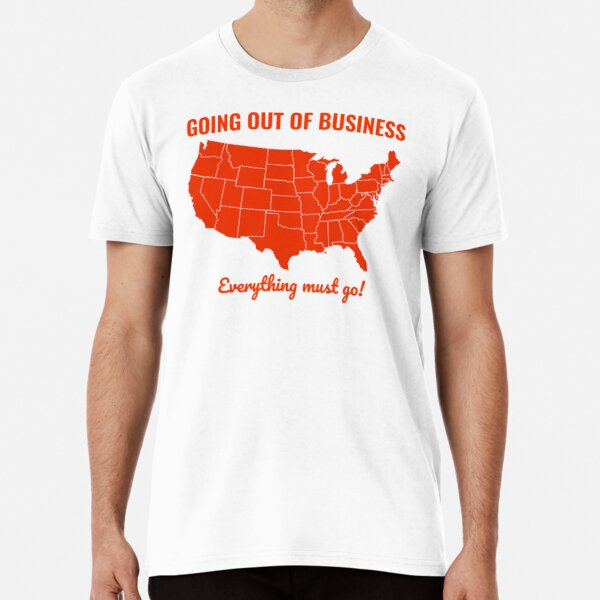 Going Out Of Business: USA Premium T-Shirt