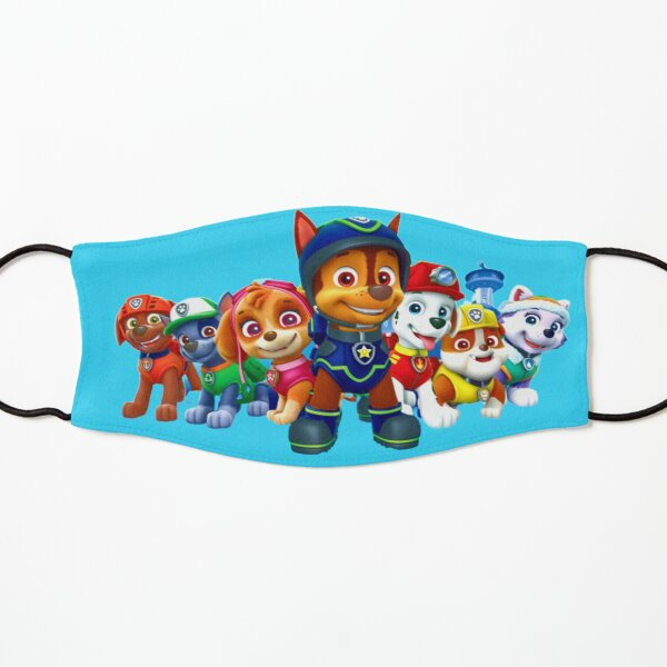 Paw Patrol characters team Kids Mask
