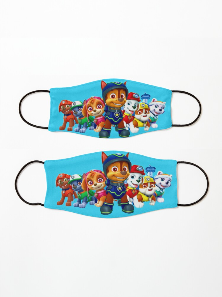 Alternate view of Paw Patrol characters team Mask