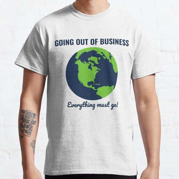 Going Out Of Business: Earth Classic T-Shirt