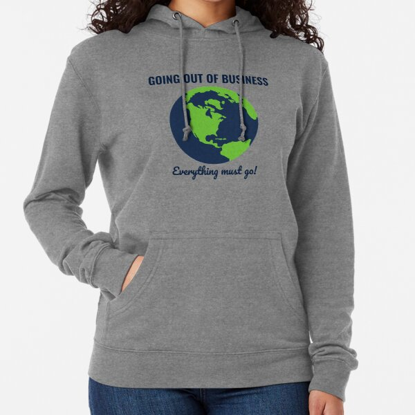 Going Out Of Business: Earth Lightweight Hoodie