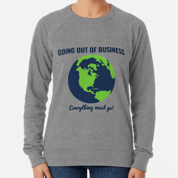 Going Out Of Business: Earth Lightweight Sweatshirt