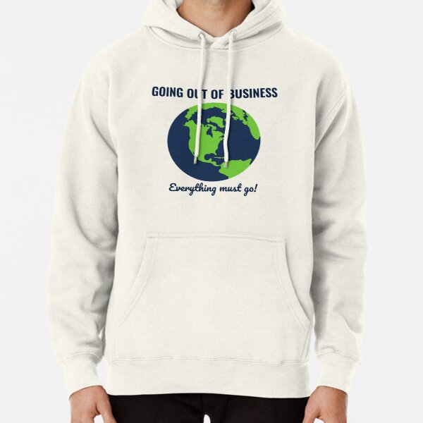Going Out Of Business: Earth Pullover Hoodie
