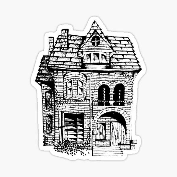 Spirit House Sticker