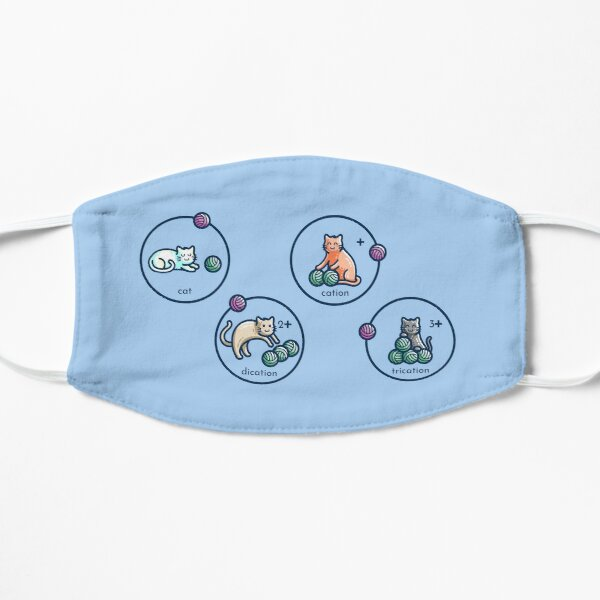 Cation Science Pun Flat Mask