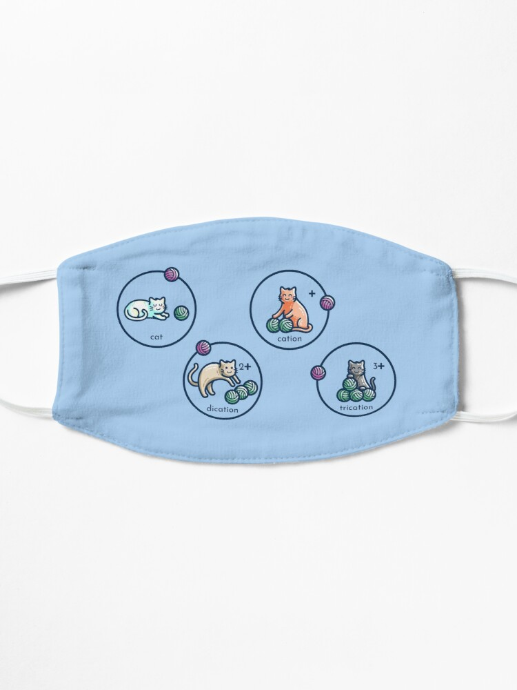 Alternate view of Cation Science Pun Mask