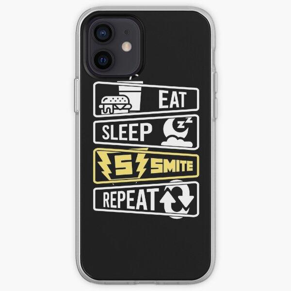 Eat Sleep Smite Repeat iPhone Soft Case