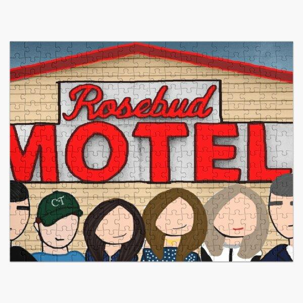 Rose Motel Jigsaw Puzzle