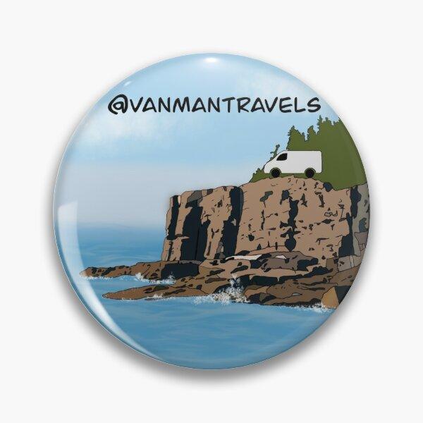Acadia VanManTravels Pin