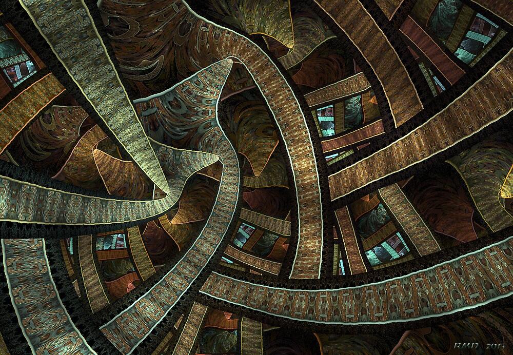 Flame Rotunda by Robert Douglas
