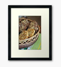 Delicious Framed Print