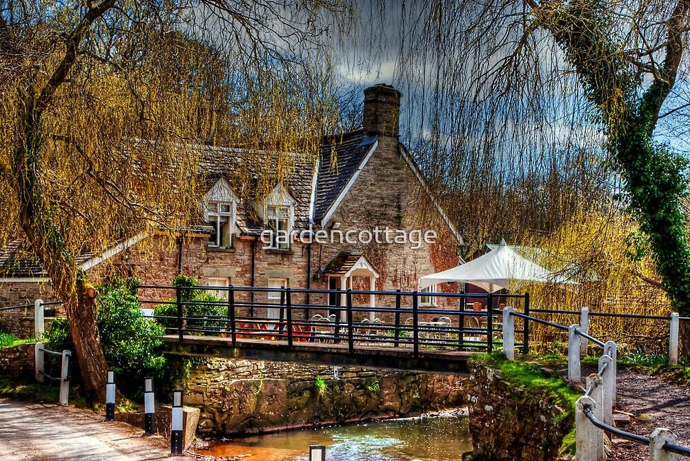 The Bridge Inn, Michaelchurch Escley SPRING 01 by gardencottage