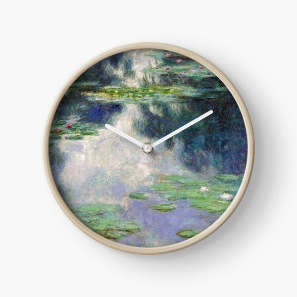 Pond with Water Lilies Monet Fine Art Clock
