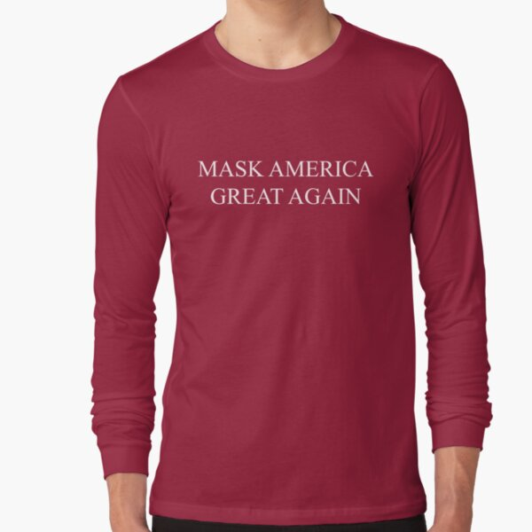 Mask America Great Again (red) Long Sleeve T-Shirt