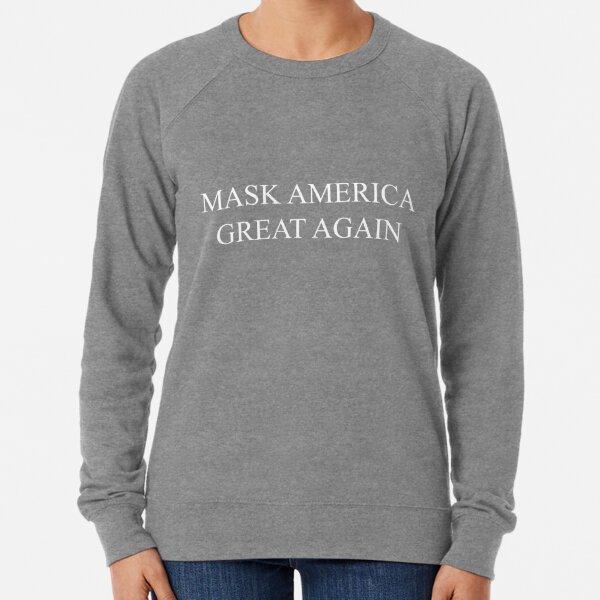 Mask America Great Again (red) Lightweight Sweatshirt