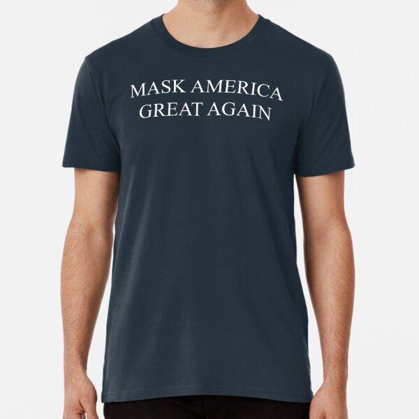 Mask America Great Again (red) Premium T-Shirt