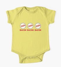 Bacon Bacon Bacon One Piece - Short Sleeve