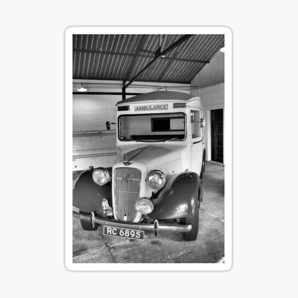 Ambulance circa 1940 Sticker