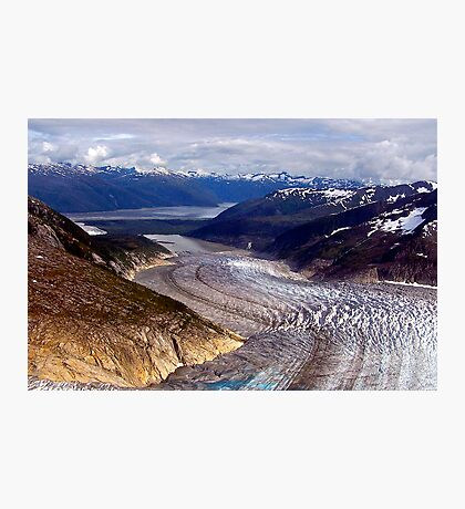 Glaciers/Rivers Of Ice Photographic Print