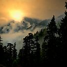 Wow, Wow, Bang, Bang ~ Buck Mountain by Charles & Patricia   Harkins ~ Picture Oregon