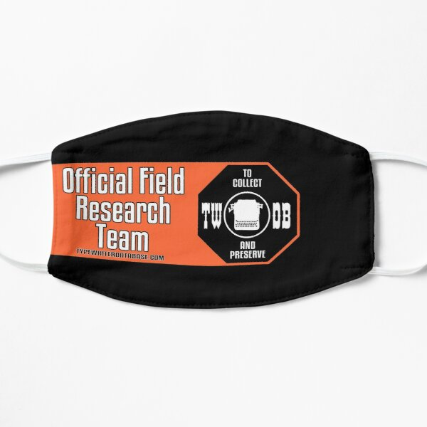 To Collect and Preserve Typewriters - TWDB Official Field Research Team Mask