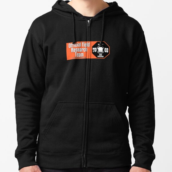 To Collect and Preserve Typewriters - TWDB Official Field Research Team Zipped Hoodie