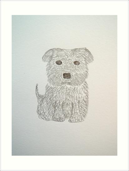 Tiny Terrier by CreativeEm