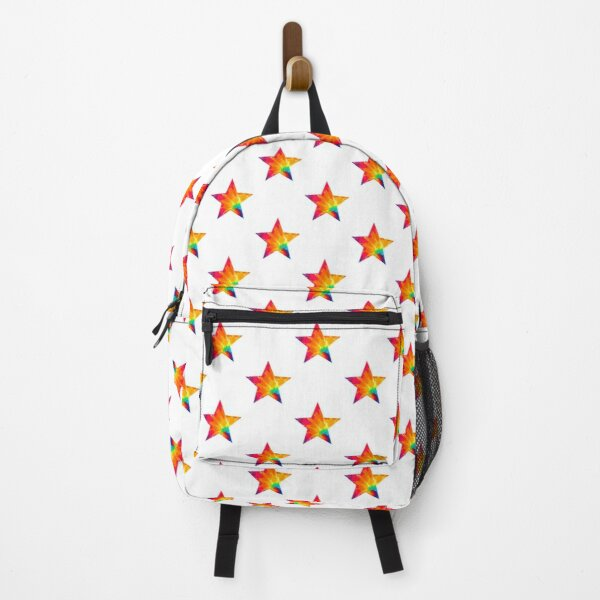 Rainbow Tie Dye Burst Backpack
