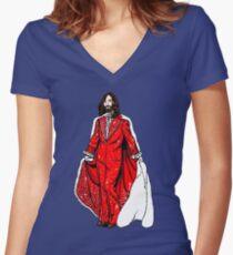 Breakbot Fantasy Women's Fitted V-Neck T-Shirt