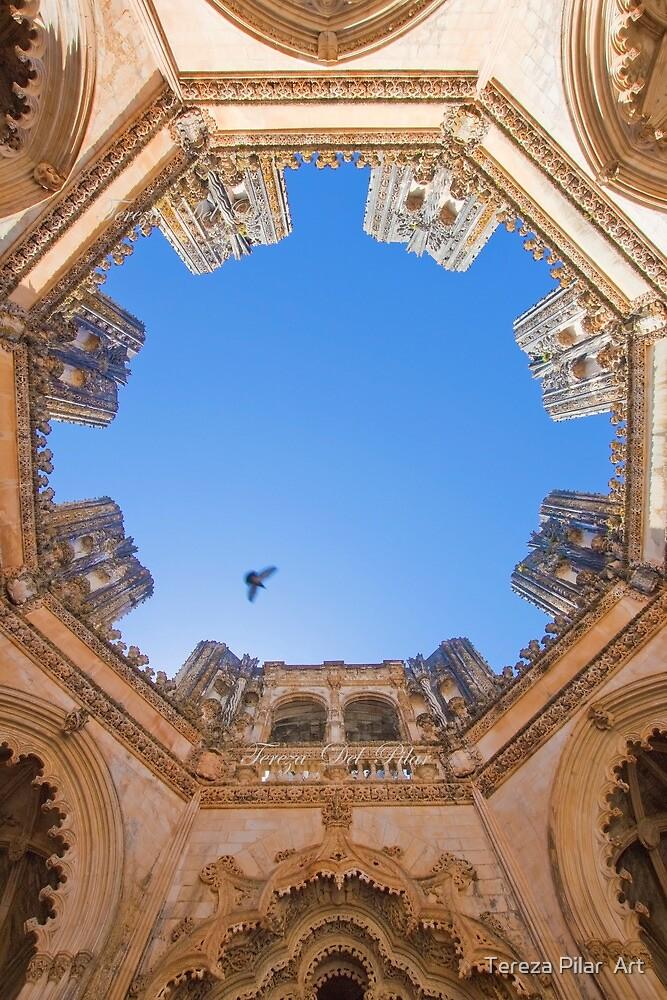 King D.Duarte Pantheon. O Céu das Capelas Imperfeitas. Batalha Monastery by terezadelpilar ~ art & architecture