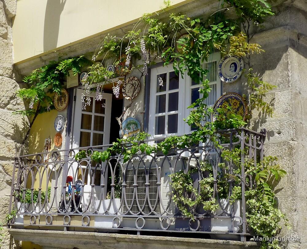 WINDOW in PORTO by Marilyn Grimble