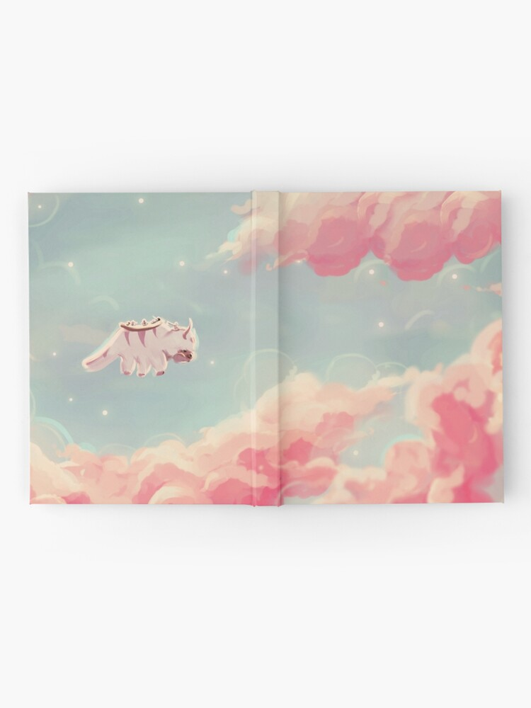 Alternate view of dreamy appa poster v1 Hardcover Journal