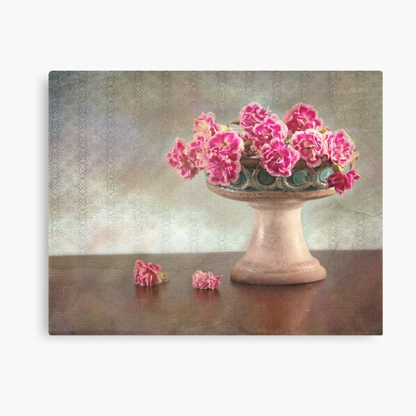 The old vase Canvas Print