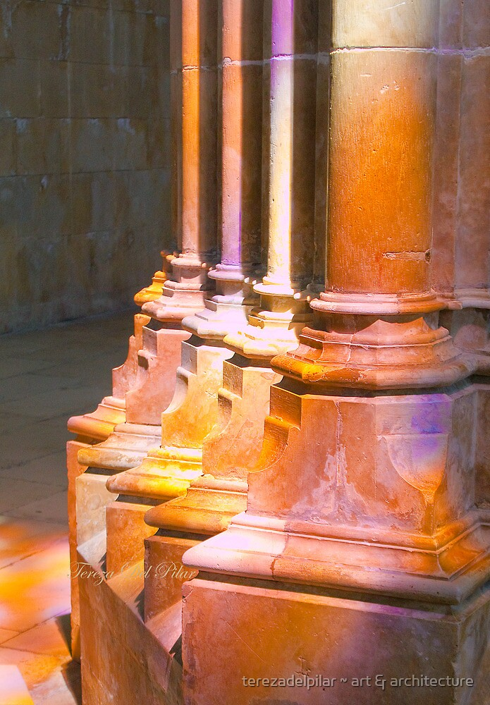 Batalha Monastery. stained glass colors on stone by terezadelpilar ~ art & architecture