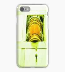 Dead human casket. iPhone Case/Skin