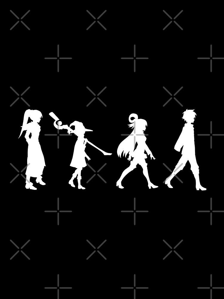 Konosuba Crew - white by CCCDesign